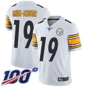 Mens Steelers JuJu Smith-Schuster Jersey 100th